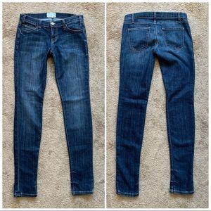 Current/Elliott Dark Skinny Stretch Jeans 26